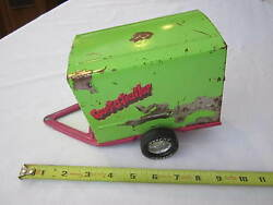 Vintage Nylint Toys Purple And Green Sport O Trailer - Pressed Steel