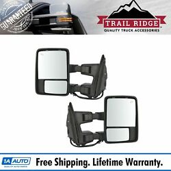 Trail Ridge Towing Mirror Power Folding Extend Heat Memory Signal Pair For Ford
