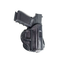 PADDLE LEATHER HOLSTER FOR KELTEC 380 & P3AT. OWB PADDLE ADJUSTABLE CANT.