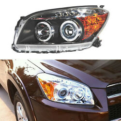 Angel Eyes+Lens+Xenon Bulb+Ballast Headlights Assembly For Toyota RAV-4 2009-12
