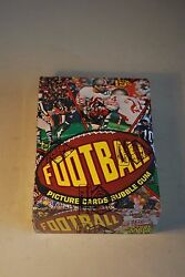 1977 Topps Football Wax Box 36 Packs Mint Unopened BBCE Wrapped Authentic PSA ?