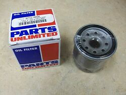 New Parts Unlimited Oil Filter For The 2004-2009 Kawasaki Kfx 700 Kfx700 V Force
