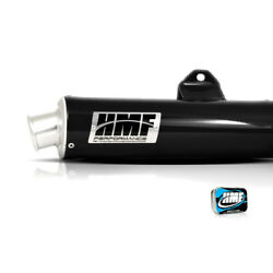 HMF Arctic Cat DVX 400 2004 - 2008 Black Slip On Exhaust Muffler + Jet Kit