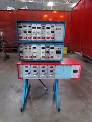 Dme And Athena Temperature Control Units - Lot Of 3 With Stand - Models Vary