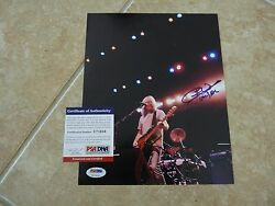 Cliff Williams ACDC Signed Autographed 8x10 Promo Color Photo PSA Certified