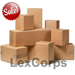 SHIPPING BOXES Many Sizes Available $51.93