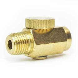 Air Regulator Bleed Valve 1/4 Inch Mpt X 1/4 Inch Fpt In Line - Vr440