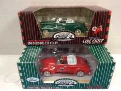 Two Gearbox 1940 Ford Deluxe Coupe Texaco Skychief Firechief Limited Editions