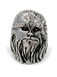 New Licensed Gift Star Wars Chewbacca Stainless Steel Ring By Han Cholo