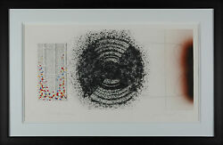 James Rosenquist - Towel Star And Sunglasses Hand-signed Etching Framed