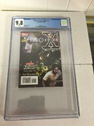 X-files Comics Digest 1 Cgc 9.8 White Pages Only One Very Hard To Find