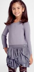 200 Matooka Kids Couture Swag Skirt Grey Dress Girland039s 2y 4y Made In Canada