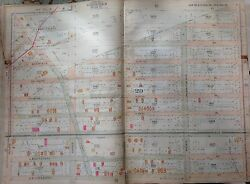 Orig 1907 Gravesend Midwood Brooklyn Ny E 18th-e 27th And Ave O-ave S Atlas Map