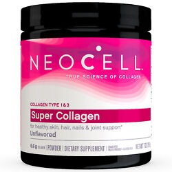 Neocell Super Collagen Type 1 And 3 Powder 7 Oz 198 G Fresh Made In Usa