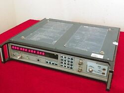 Eip 548a Microwave Frequency Counter 10hz-26.5ghz W/opt 05,06,08 Nist Cal'ed