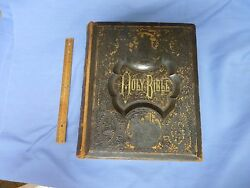 Large Family Bible 1881 Family History Many Plates 1200 Pages