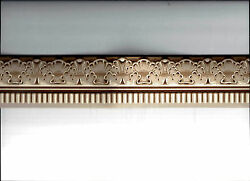 * WALLPAPER MINI BORDER CHAIR RAIL DOLL HOUSE ARCHITEDTURAL MOULDING CLASSIC NEW