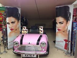 Celebrity Style Classic Mini Desk In Pink Photoand039d @ Katie Price Signing Kissable