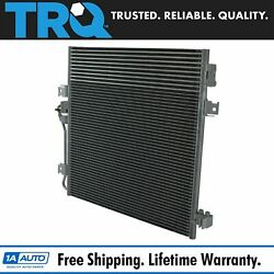 Trq Ac Condenser A/c Air Conditioning For Dodge Nitro Jeep Liberty Truck Suv New