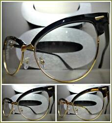 Women's CLASSIC VINTAGE RETRO CAT EYE Style Clear Lens EYE GLASSES Fashion Frame