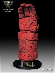 Sideshow Hellboy The Right Hand Of Doom Life Size 11 Prop Replica Statue Figure