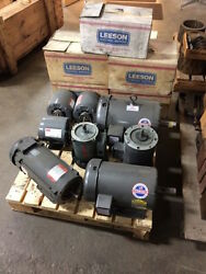 Lot Of 13 Electric Motors - 1/4 Hp To 3 Hp