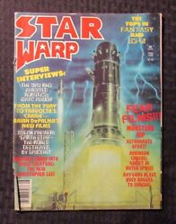 1978 Star Warp Magazine V.1 3 Gd+ 2.5 Planet Of The Apes - Isaac Asimov
