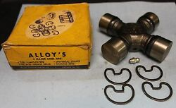 Vintage Nos Alloyand039s Universal Joint 2030 / 330 1950s Ford Gm Chevy Trucks 259