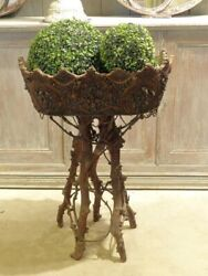 French Black Forest Planter – 19thcentury