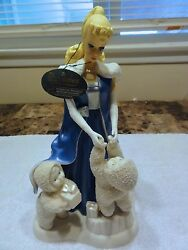 Snowbabies Dept 56 Under The Midnight Moon With Barbie With Box -- Retired