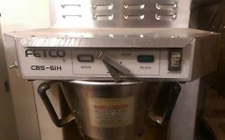 Fetco CBS 61H Coffee Brewer Commercial Coffee Brewer