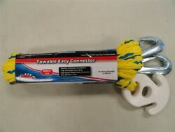 Boater Sports 52436 Towable Tube Easy Connector Rope 5/8 X 16and039 Feet Boat