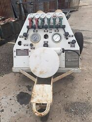 Nan 1 Nitrogen Servicing Trailer Complete With 6 Cylinders 3500 Psi