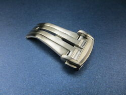Omega 18mm Swiss Stainless Deployment Buckle Polish Clasp Seamaster Brush Vs
