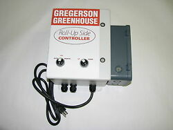 Greenhouse Roll-Up Side Controller 120vac in 2x 24vdc out