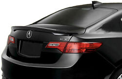 Painted Nh731p Crystal Black Factory Style Rear Spoiler For Acura Ilx 2013-2018