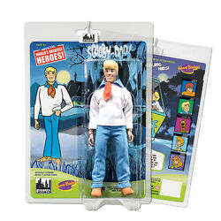 Scooby Doo 8 Inch Retro Style Action Figures Series 1 Fred