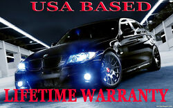 PREMIUM FOG LED KIT LIFETME WARNTY 2011 2012 2013 BMW 550 550i 535 535I xDRIVE