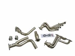 Maximizer Catted Long Tube Header Fits 00 To 03 Gmc Chevy 1500 4.8l 5.3l 2/4wd