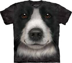 BORDER COLLIE ADULT T-SHIRT THE MOUNTAIN