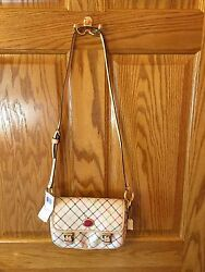 Coach Peyton Tattersall Field Bag F48758 NWT