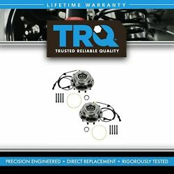 Trq Wheel Hub And Bearing Front Left And Right Set For Ford F450sd F550sd Drw 4wd