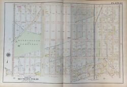 1907 Midwood Flatbush Ave I To Ave M And Gravesend -ocean Brooklyn, Ny Atlas Map