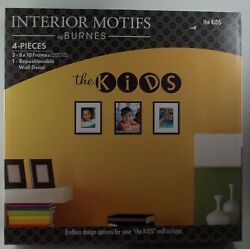 Interior Motifs By Burnes The Kids 3 8x10 Picture Photo Frames Wall Decal 67