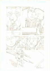 Fables 51 P.2 - Cinderella Negotiating Treaty With Giants - 2006 Shawn Mcmanus