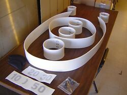 Entire New Complete Skee Ball Scoring Ring Set. All Installation Accessories.