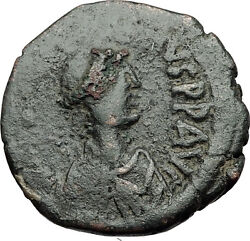 Justinian I The Great 527ad Follis Large Authentic Ancient Byzantine Coin I58431