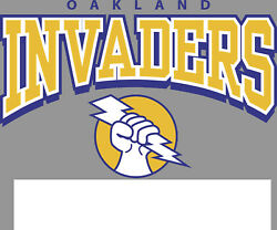 Oakland Invaders Usfl Embroidered Mens Pocket Polo Xs-6xl, Lt-4xlt Raiders New