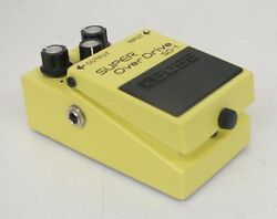 Boss Super Over Drive SD-1 Guitar Effect Pedal GREAT Satisfaction Guaranteed