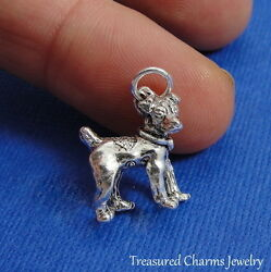 Silver JACK RUSSELL TERRIER Dog CHARM PENDANT *NEW*